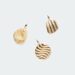 Add-on Dunes, Natural Coral, Sun of a Beach pendants gold