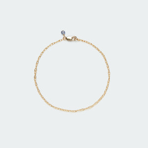 Twist chain bracelet gold