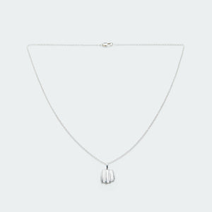 Load image into Gallery viewer, ketting zilver met schelp