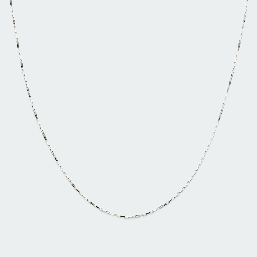 Load image into Gallery viewer, Box chain necklace silver