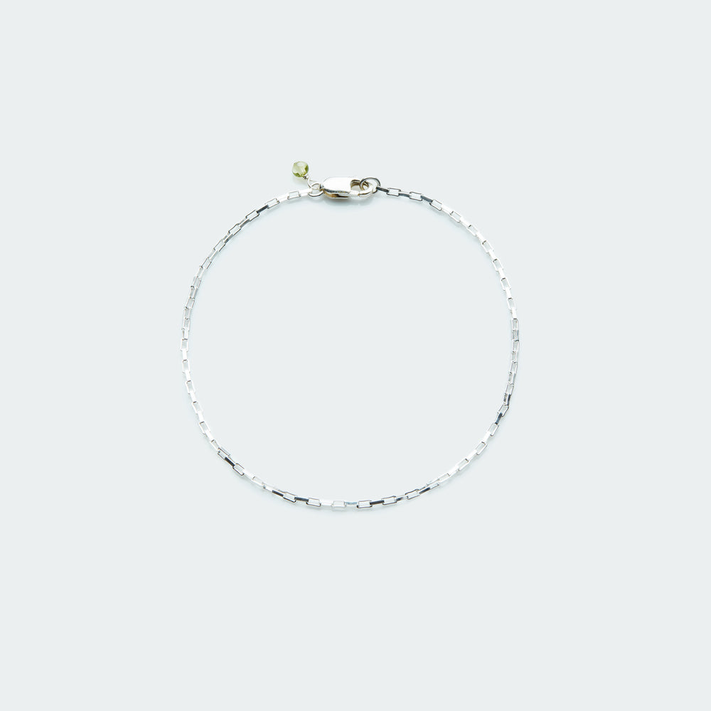 Load image into Gallery viewer, Box chain bracelet silver