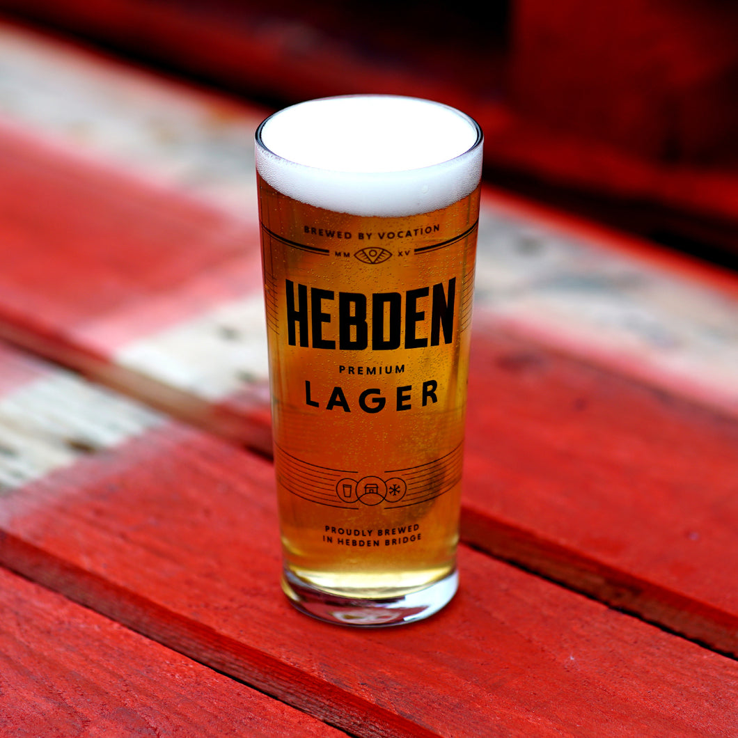 Vocation Hebden Lager Pint Glass
