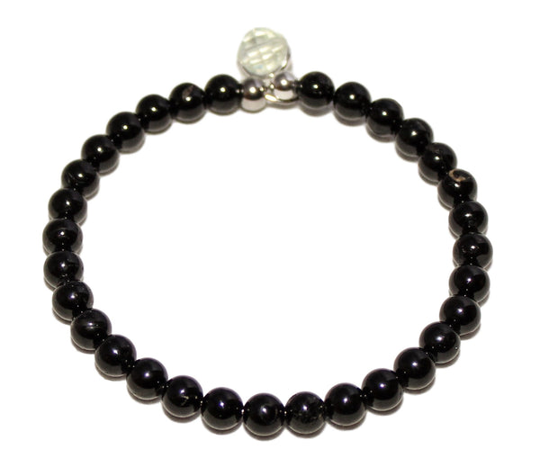 DetectSun Natural Black Onyx Bangle