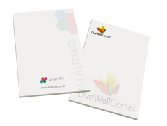 promotonal notepads, promotional note pads, printed notepads, branded paper notepads