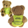 Bears - High Vis Bears 13cm  - PG Promotional Items