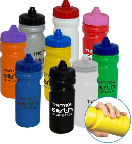 promotional gripper bottles, printed gripper bottles, promotional thirst bottles