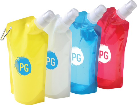 - 820ml Collapsible Bottles - Unprinted sample  - PG Promotional Items