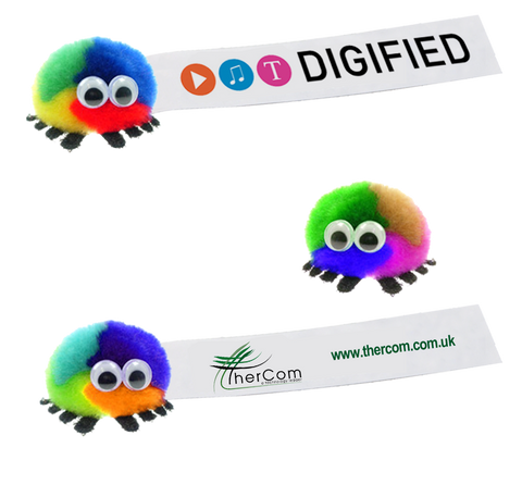 - Multicoloured Logobugs - Unprinted sample  - PG Promotional Items