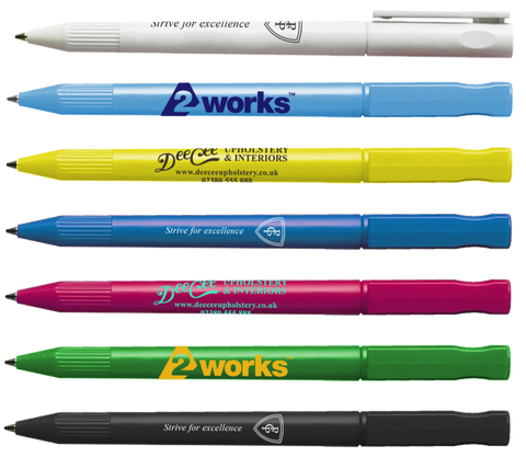 printed saver pens, low cost promotional pens, cheap marketing pens, cheap branded pens