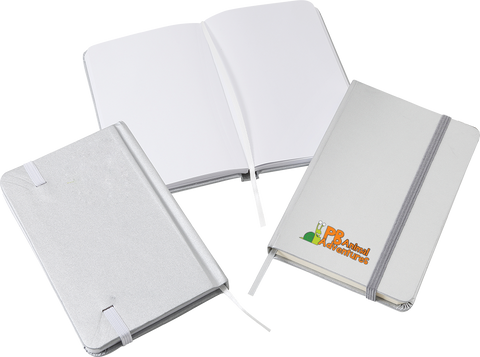 Notepads & Paper - Argento A6 Notebooks  - PG Promotional Items