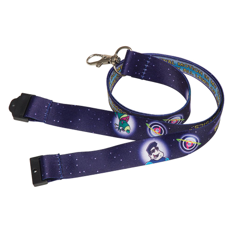 printed dye sublimation lanyards 20mm, promotional full colour lanyards