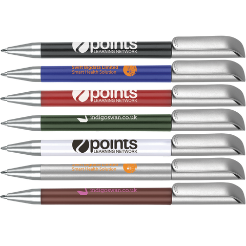 Low cost promotional pens - Alaska Deluxe Pens - 48 hour  - PG Promotional Items