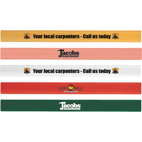 Pencils - Carpenters Pencils  - PG Promotional Items