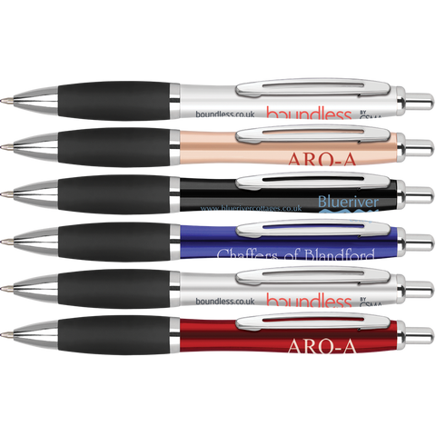 Metal Pens - Metal Curvy Pens  - PG Promotional Items