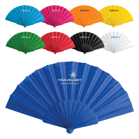 - Concertina Hand Fans - Unprinted sample  - PG Promotional Items