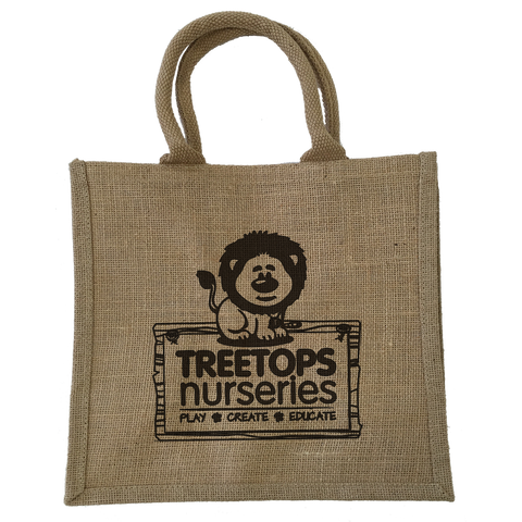 Totes & Shoppers - Handy Jute Bags  - PG Promotional Items