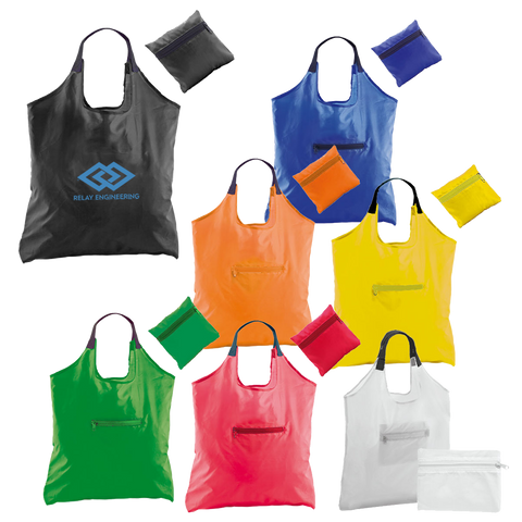 Totes & Shoppers - Kima Folding Totes  - PG Promotional Items