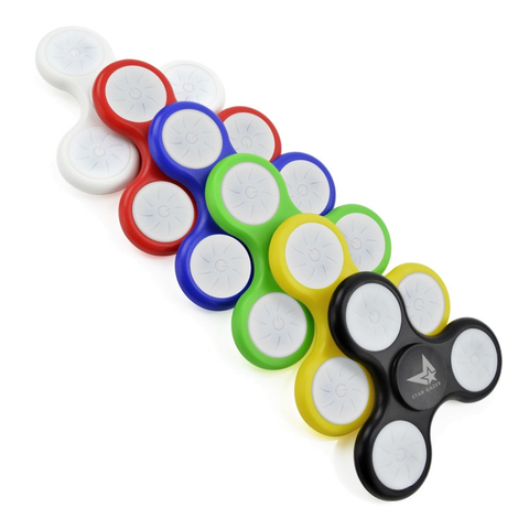 Lifestyle & Creative - LED Fidget Spinners  - PG Promotional Items