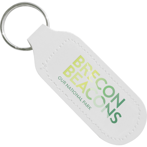 Digital Leather Keyrings - Oblong