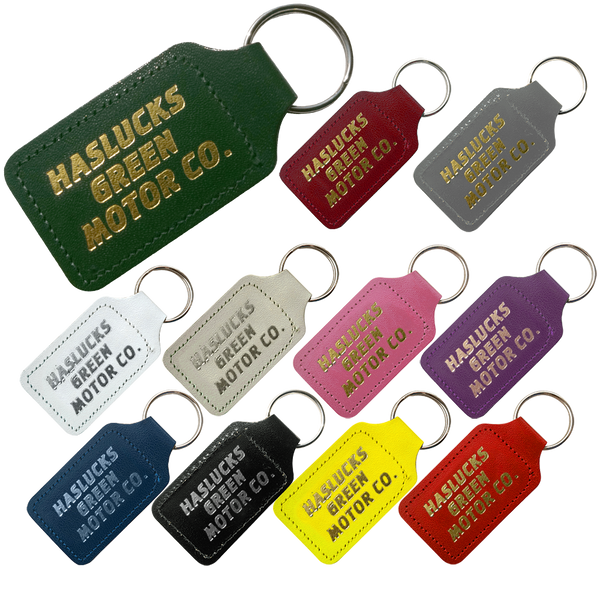 Leather Keyrings - Square
