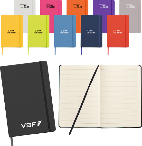 Ludlow A5 Soft Feel Notebooks