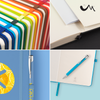 Notepads & Paper - A5 Soft Mood Notebooks Pastel - FSC Approved  - PG Promotional Items