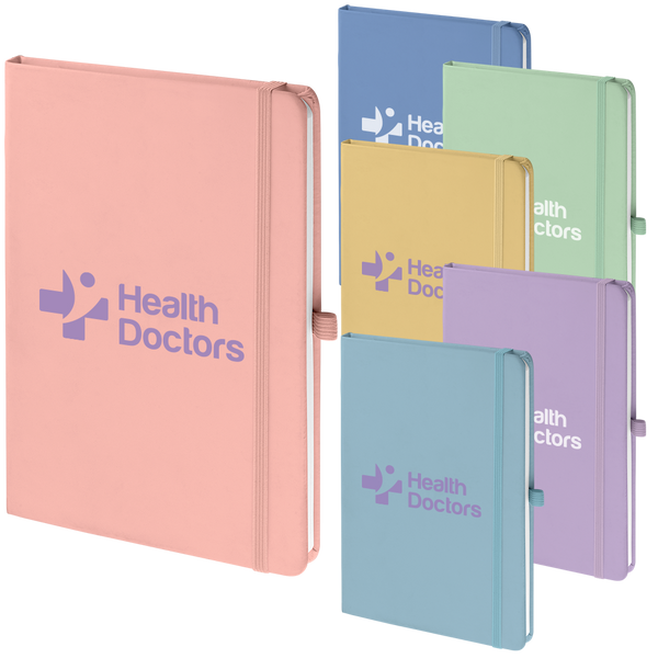 A5 Soft Mood Notebooks Pastel - FSC Approved