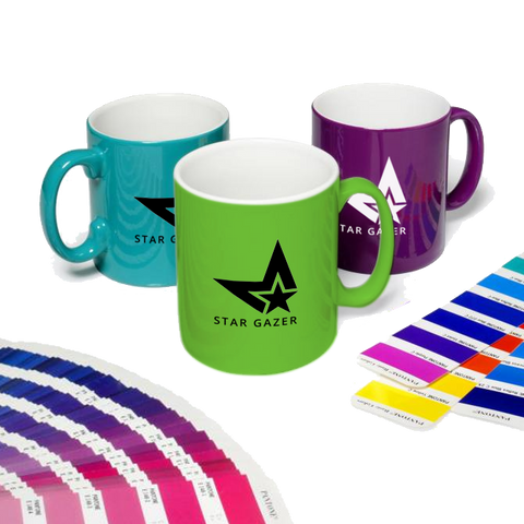 - Pantone Matched Cambridge Mugs - Unprinted sample  - PG Promotional Items
