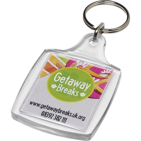 Low cost keyrings - Passport Keyrings  - PG Promotional Items