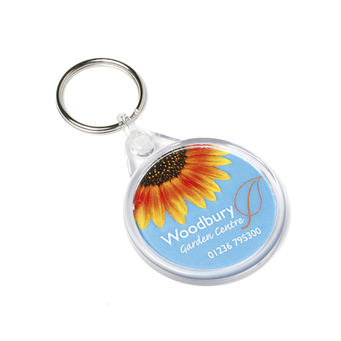 - Round Keyrings - Unprinted sample  - PG Promotional Items