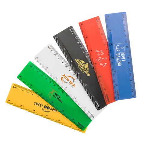 - 15cm Rulers - Unprinted sample  - PG Promotional Items