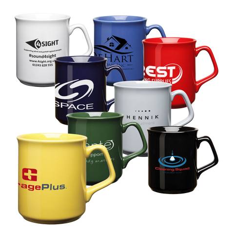 Ceramic Mugs - NOBUG® Sparta Mugs  - PG Promotional Items