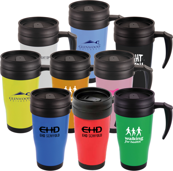 Promotional Travel Mugs (Solid)