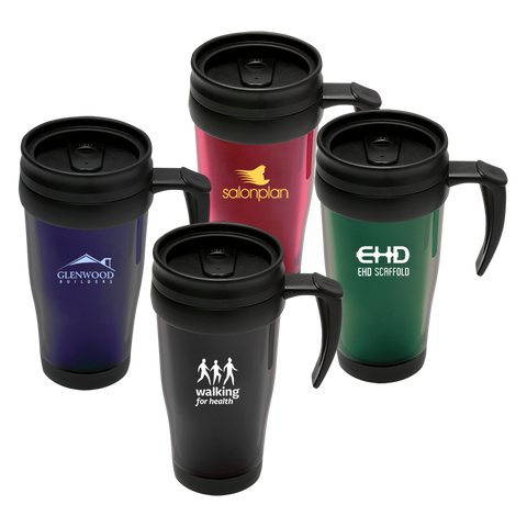 - Classic Travel Mugs (Translucent) - Unprinted sample  - PG Promotional Items