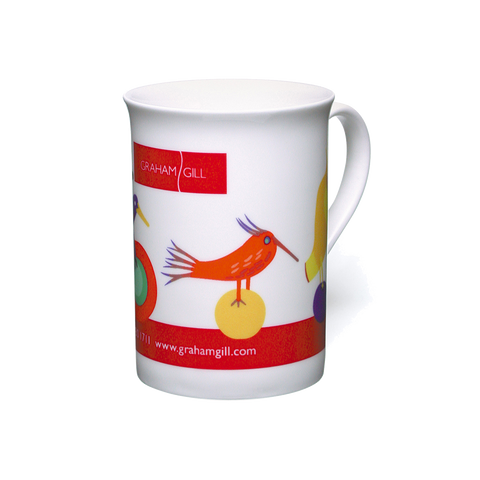 full cololour china mugs, promotional dye sublimation china mugs, promotional windsor mugs