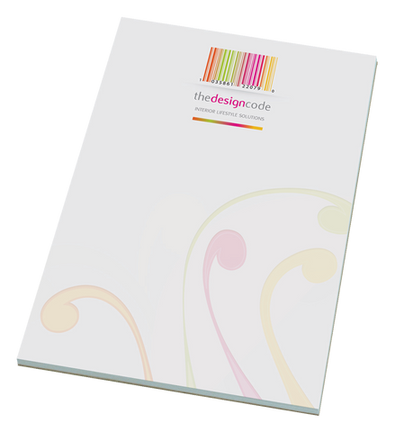 Notepads & Paper - Recycled A5 Desk Pads  - PG Promotional Items