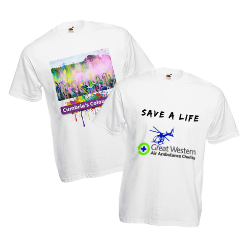 T-Shirts - Printed Fundraising T-shirts  - PG Promotional Items