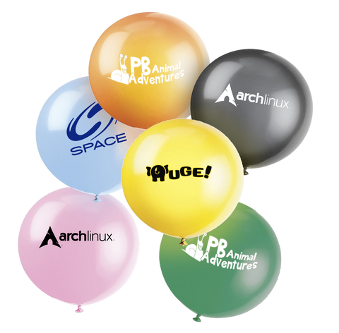 "Balloons - Giant 36"" Balloons  - PG Promotional Items"