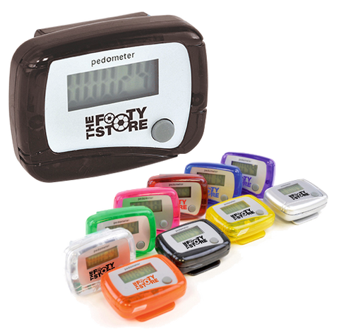 Lifestyle & Creative - Coloured Pedometers  - PG Promotional Items