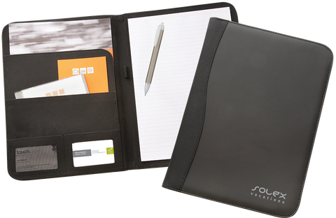 printed executive folder, promotional executive gifts