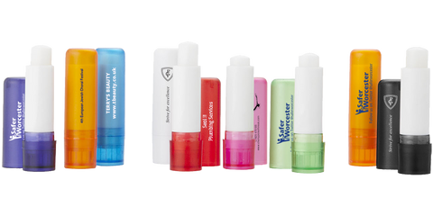 - Coloured Lip Balms - Unprinted sample  - PG Promotional Items