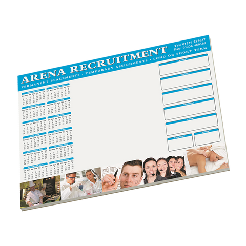 Notepads & Paper - A3 Desk Pads  - PG Promotional Items