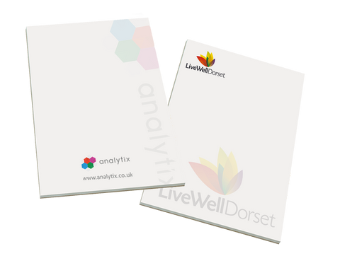 - A4 Notepads - Unprinted sample  - PG Promotional Items
