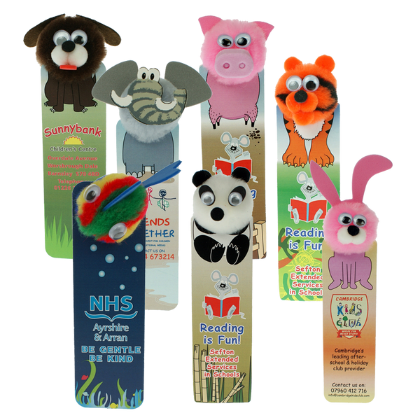 Animal Bug Bookmarks