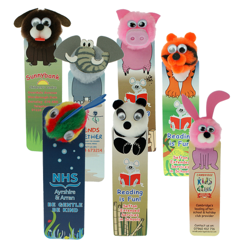 Bugs - Animal Bug Bookmarks  - PG Promotional Items