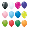 "Balloons - 12"" Latex Balloons - BOTH SIDES  - PG Promotional Items"