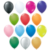 "- 10"" Balloons & Sticks Package - BOTH SIDES - Unprinted sample  - PG Promotional Items"