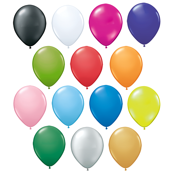 1000 x 12 printed promotional balloons with your logo - Chemise coin plastique transparent ...