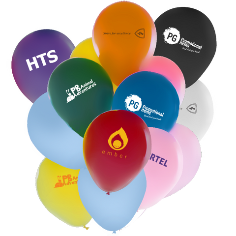 "- 10"" Pearl Balloons - Unprinted sample  - PG Promotional Items"