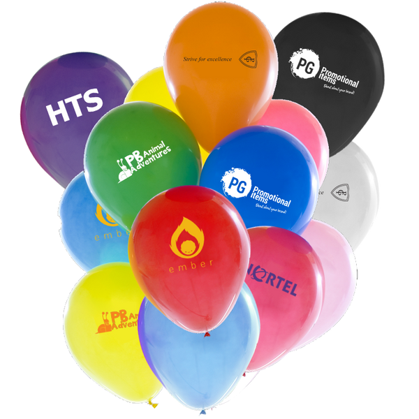 "10"" Latex Balloons - BOTH SIDES - Unprinted sample"